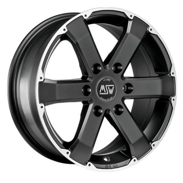 MSW 46 matt black 06